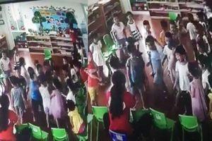 3 cô giáo mầm non Rainbow để trẻ đánh bạn hội đồng bị đình chỉ công tác