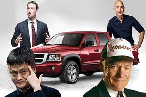 Bất ngờ giá những chiếc xe được Top người giàu có nhất thế giới lựa chọn