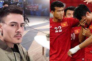 Hoa Vinh gây tranh cãi vì phát ngôn trước trận bán kết của U23 VN