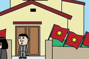 Đi 'bão' ăn mừng U23 Việt Nam gặp được thầy bói có tâm