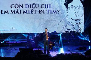 'Hồng Thanh Quang - Người đàn ông mùa thu' cùng thơ nhạc trải tiếng lòng