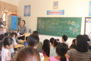 Không vội vàng điều chuyển giáo viên bậc THCS xuống Tiểu học