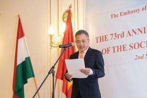 Đại sứ quán Việt Nam tại Hungary kỷ niệm trọng thể 73 năm Quốc khánh