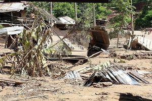 Hậu bão số 4: Nhiều bản miền Tây xứ Nghệ vẫn tan hoang