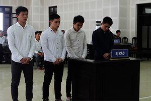 4 nam thanh niên vào tù vì dùng hung khí giải quyết mâu thuẫn
