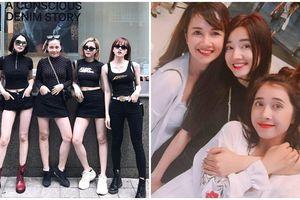 Bộ tam, bộ tứ chị em sao Việt: Toàn chân dài, mặt xinh như Hoa hậu