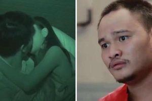 Diễn viên Vinh Râu 'đỏ mặt' khi xem cảnh cặp đôi vừa gặp đã hôn