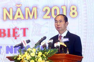 Chủ tịch nước Trần Đại Quang: Đãi ngộ, trọng dụng các tài năng trẻ