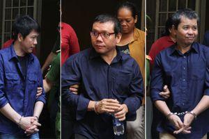 Lại hoãn phiên tòa vụ xử 'logo xe vua' vì bị cáo ngất xỉu