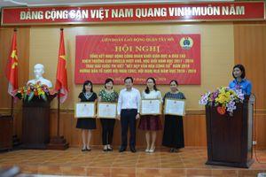 LĐLĐ quận Tây Hồ: Tổng kết hoạt động công đoàn khối giáo dục, đào tạo