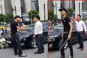 Trần tình của nam thanh niên dùng điếu cày đánh tài xế ô tô sau va chạm giao thông