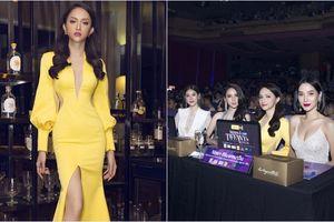 Hoa hậu Hương Giang xinh đẹp 'rạng rỡ' với vị trí giám khảo cuộc thi Hoa hậu Chuyển giới Thái Lan