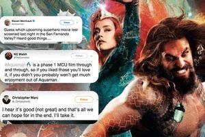 'Aquaman' bị so sánh như Phase 1 của MCU ngay sau buổi công chiếu thử nghiệm