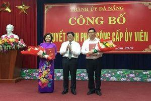Đà Nẵng: Điều động, bổ nhiệm nhân sự Thành ủy