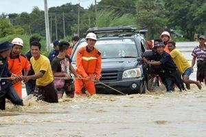 Hàng trăm ngôi làng tại Myanmar chìm trong biển nước vì sự cố vỡ đập