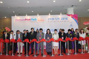 Hơn 380 doanh nghiệp tham gia VietnamPrintPackFoodtech 2018