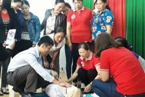 Đắk Nông: Nâng cao kỹ năng sơ cấp cứu ban đầu cho cán bộ chữ thập đỏ