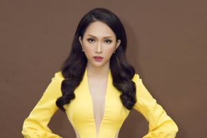 Hương Giang xinh đẹp 'nóng bỏng' trong vị trí giám khảo Hoa hậu Chuyển giới Thái Lan