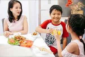 Vun đắp hạnh phúc gia đình qua bữa cơm hằng ngày