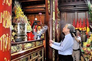 Thái Bình dâng hương tưởng niệm Chủ tịch Hồ Chí Minh