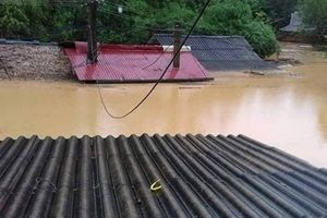 Mưa lớn, nhiều xã tại Quan Hóa bị ảnh hưởng nặng