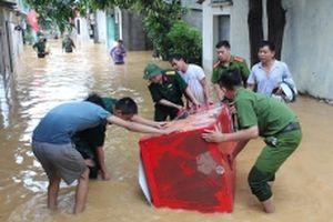Khẩn trương khắc phục thiệt hại do mưa lũ
