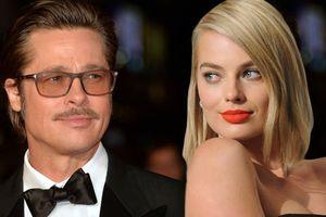 Chồng 'đóa hồng nước Úc' Margot Robbie nổi điên vì Brad Pitt say nắng vợ mình