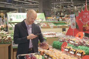 Độc đáo trải nghiệm mua sắm ở siêu thị công nghệ cao của Alibaba