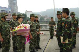 Tuần tra liên hợp thi hành pháp luật trên biên giới Lào Cai - Vân Nam