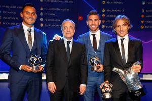 Real Madrid thống trị các danh hiệu của UEFA