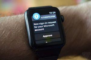 Người dùng đã có thể mở tài khoản Microsoft bằng Apple Watch mà không cần mật khẩu