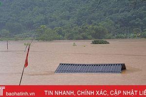 Những hình ảnh mưa lũ kinh hoàng tại Sơn La