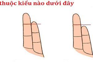 So độ dài ngắn của ngón út với ngón áp út để thấy cuộc hôn nhân của bạn hạnh phúc hay khổ sở