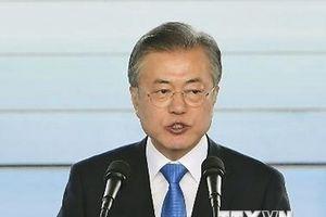Tỷ lệ ủng hộ ông Moon Jae-in giảm mức thấp kỷ lục từ khi nhập chức