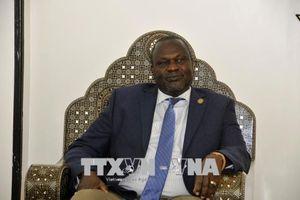 Nam Sudan: Lãnh đạo phe đối lập chấp nhận thỏa thuận hòa bình với Juba