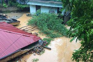 Lũ lên báo động 3 trên nhiều tuyến sông ở Thanh Hóa