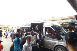 Hà Nội: Bến xe, đường cửa ngõ ken kín người về quê nghỉ 2/9