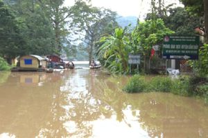 Huyện Cẩm Thủy tập trung khắc phục ảnh hưởng do mưa lũ