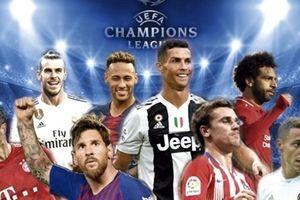 Kết quả bốc thăm chia bảng Champion League 2018-2019