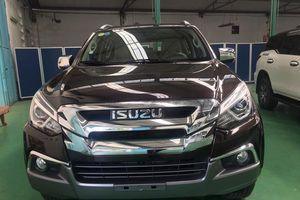 Isuzu mu-X 2018 hưởng thuế NK 0% về Việt Nam - đối thủ Toyota Fortuner