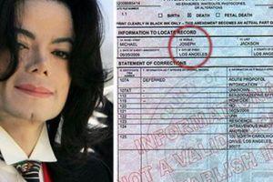 Ông hoàng nhạc Pop Michael Jackson vẫn còn sống?