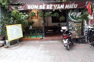 Vi phạm trật tự vẫn diễn ra trên địa bàn phường Văn Miếu