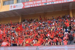 Sân Hàng Đẫy 'nghẹt thở' trước trận U23 Việt Nam vs U23 UAE