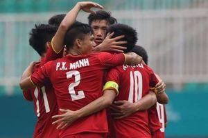 Bàn thắng của Văn Quyết vào lưới UAE trong trận tranh HCĐ ASIAD 18