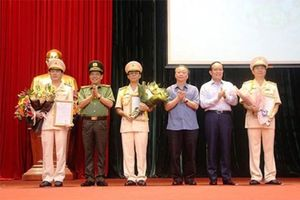 Công an TP Hà Nội có thêm 3 Phó Giám đốc mới