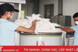 Công nhân Vinatex Hồng Lĩnh 'gác' lễ 2/9 để kịp đơn hàng