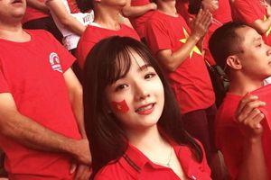 Nữ CĐV Việt Nam gây sốt truyền hình Hàn Quốc sau trận bán kết ASIAD 2018