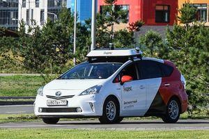 Taxi không người lái đầu tiên của châu Âu bắt đầu chở khách tại Nga