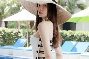 Hồ Ngọc Hà khoe ảnh mặc bikini tại hồ bơi 'đốt mắt' người xem