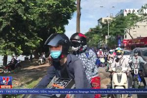 Tình hình giao thông tại Hà Nội trong ngày đầu nghỉ lễ